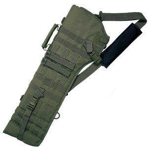 Red Rock Gear MOLLE Rifle Scabbard MOLLE Webbing Padded 600D Polyester OD Green