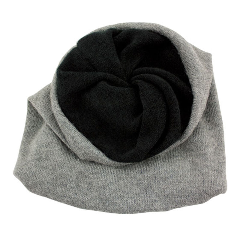 Red Rock Gear Toboggan One Size Fits Most Black and Grey Reversible