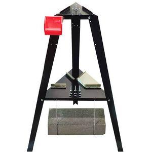 Lee Precision Reloading Stand Predrilled Baseplate Tripod Configuration Steel Black 90688
