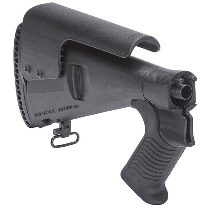 Mesa Tactical Urbino Pistol Grip Stock Benelli M4 Model 12 Gauge Shotguns Riser/Limbsaver Injection Molded Glass Filled Nylon Matte Black 91470