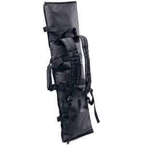 "Hackett Equipment Rifle Burrito Slim Rifle Backpack and Shooting Mat 46"" Length Black Bean and Hot Salsa"