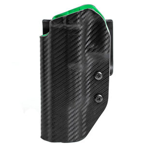 Uncle Mike's Range/Competition Belt Slide Holster fits S&W M&P 9L Pro/CORE 9mm OWB Left Hand Polymer Black