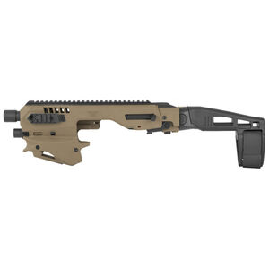 Command Arms Micro Roni Conversion Kit Fits SIG P320 Chassis Pistol Brace Polymer Tan  CAA MCKSIGT