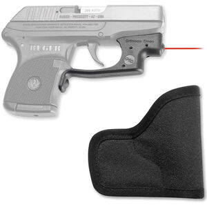 Crimson Trace Laserguard Ruger LCP Red Laser with Pocket Holster 1x 1/3N Lithium Battery LG-431H