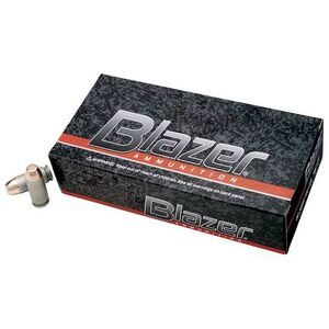 Ammo 9mm CCI Blazer FMJ 147 Grain 50 Round Box 950 fps