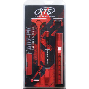 XTS Anodized AR-15 Parts Kit Red XTS-ADZ-PKRD