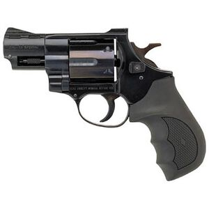 """EAA Windicator Revolver .38 Special 2"""" Barrel 6 Rounds Rubber Grips Blue Finish 770125"""