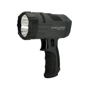 Cyclops REVO 1100 Handheld 1100 Lumens Lexon LED Bulbs 6V SLA Battery Trigger Switch Black