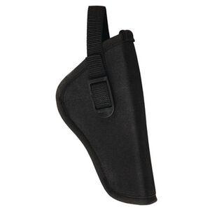 "Bulldog Cases Deluxe Hip Holster 3-4"" Medium Revolver Right Hand Nylon Black"