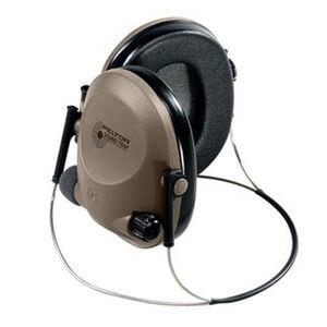 Peltor 3M Sound-Trap Slimline Tactical Electronic Earmuff Headset Beige/Black MT15H67BB