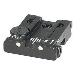 Beretta 92/96 Adjustable Rear Sight Dovetail Steel Black E00169