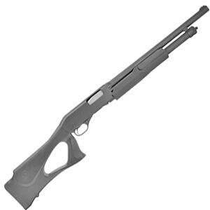 "Savage Stevens 320 Security 20 Gauge Pump Action Shotgun 18.5"" Barrel 5 Rounds Front Bead Sight Black Thumbhole Synthetic Stock Black Finish"