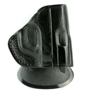 """Tagua Rotatable Quick Draw Springfield XD 9mm/.40 S&W 4"""" Barrel Paddle Holster Right Hand Leather Black"""