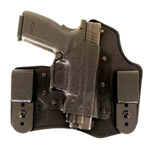 "DeSantis 105 The Intruder IWB Holster 1911 4""-5"" Right Hand Leather/Kydex Black 105KA21Z0"