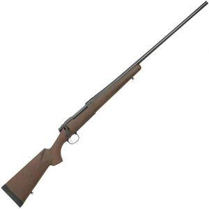 "Remington Model 700 AWR Bolt Action Rifle .338 Win Mag 24"" Barrel 3 Rounds Brown Grayboe Synthetic Stock Black Cerakote Finish"