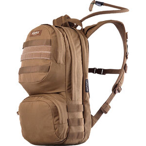 Source Tactical Commander 10 Liter Hydration Cargo Pack, Nylon, Coyote, MOLLE Compatible