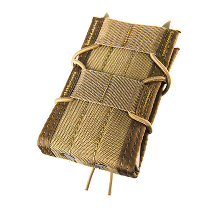 High Speed Gear Rifle TACO LT Magazine Carrier Nylon/Polymer MOLLE Compatible Coyote Brown