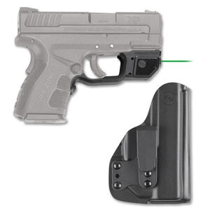 Crimson Trace LG-496G-HBT Green Laser Guard with Blade-Tech Holster For Springfield XD Mod 2 Right Hand Draw Matte Black