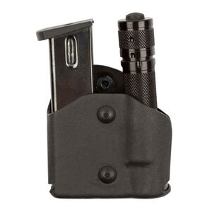 Safariland Model 574 Magazine and Light Pouch Right Hand Fits GLOCK 17/19 Polymer Black