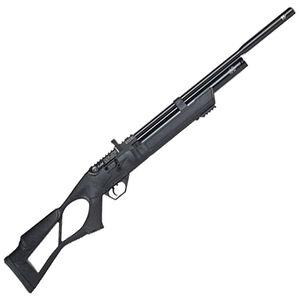 "Hatsan Flash QE .25 Caliber PCP Air Rifle 17.7"" Barrel 870 fps 10 Shot Thumbhole Stock Black Finish"