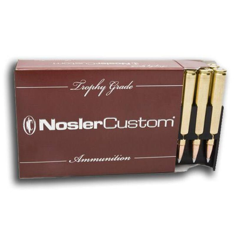 Nosler Trophy 7mm Rem Mag 168 Grain AccuBond 20 Rnd Box