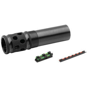 TRUGLO Beretta Mobil 12 Gauge Gobble Stopper Extreme Extended Ported Turkey Choke Steel Blued with Gobble-Dot Dual Color Fiber Optic Sights Set TG175XC