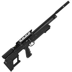 Hatsan BullBoss .25 Caliber PCP Side Lever-Action Pellet Rifle 9 Rounds Polymer Adjustable Stock Black