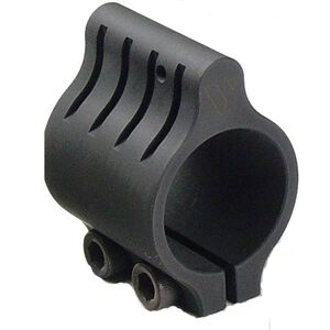 "Vltor Weapon Systems AR-15 Clamp On Low Profile Gas Block Stainless Steel 0.625"" Barrel Matte Black Oxide GB-CLAMP625BLK"