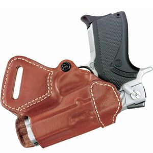 Gould & Goodrich Small of Back Holster for 1911 and Hi Power 806 Right Hand Leather Tan