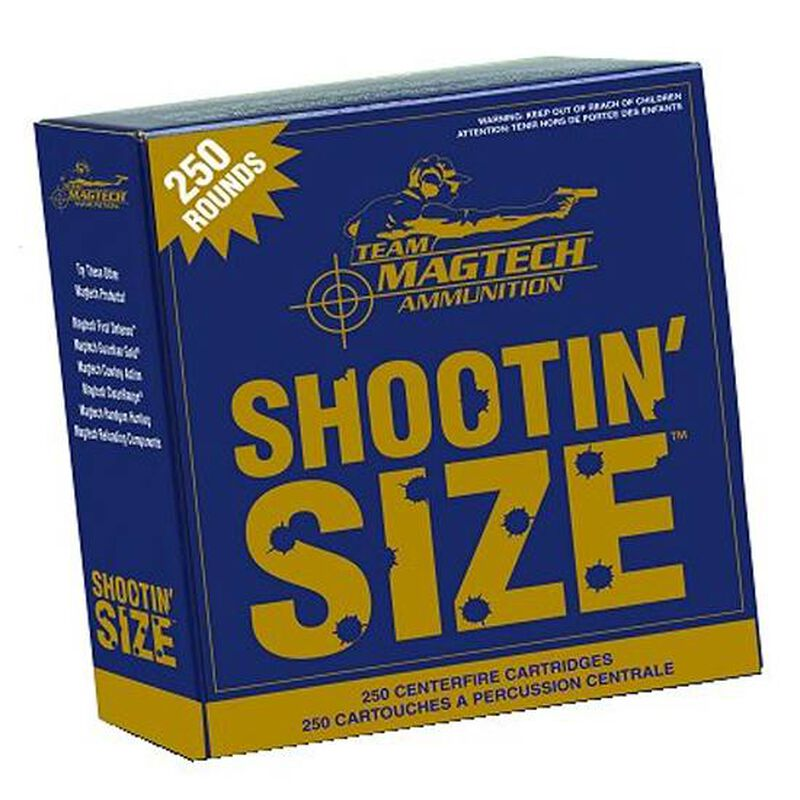 Magtech .40 S&W Ammunition 250 Rounds, FMJ, 180 Grains