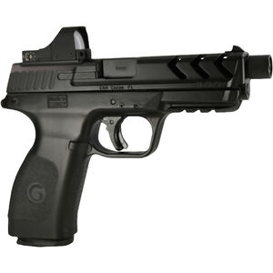 "EAA GiRSAN MC28SA-TV BX 9mm Luger Semi Auto Pistol 4.5"" Threaded Barrel 15 Rounds Red Dot Optic Black Polymer Frame Matte Black Finish"