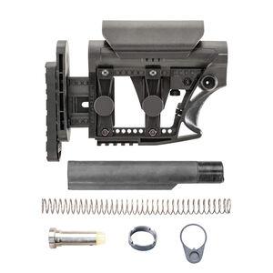 Luth-AR AR-15 MBA-3 Stock Assembly With Mil-Spec .223 Buffer Kit Black MBA-3K-M