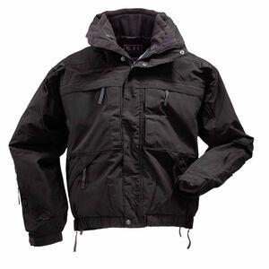 5.11 Tactical 5-In-1 Duty Jacket Waterproof XL Tall Black 48017