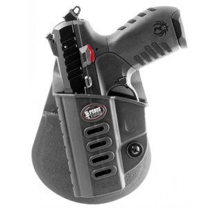 Fobus Evolution Holster Ruger SR22 Left Hand Paddle Attachment Polymer Black