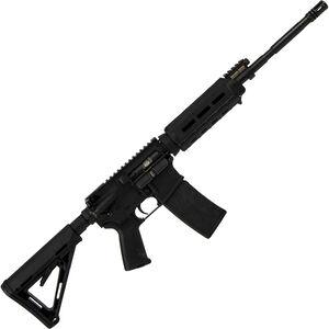 "Adams Arms Rifle P1 MOE .5.56 NATO AR-15 Semi Auto Rifle 16"" Barrel 30 Rounds Piston Operated Magpul MOE Furniture Black Finish"