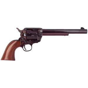 "Cimarron El Malo Revolver 357 Mag 7.5"" Barrel 6 Rounds Walnut Grips Blued"