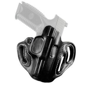 DeSantis Speed Scabbard For Taurus G3 OWB Belt Holster Leather Black