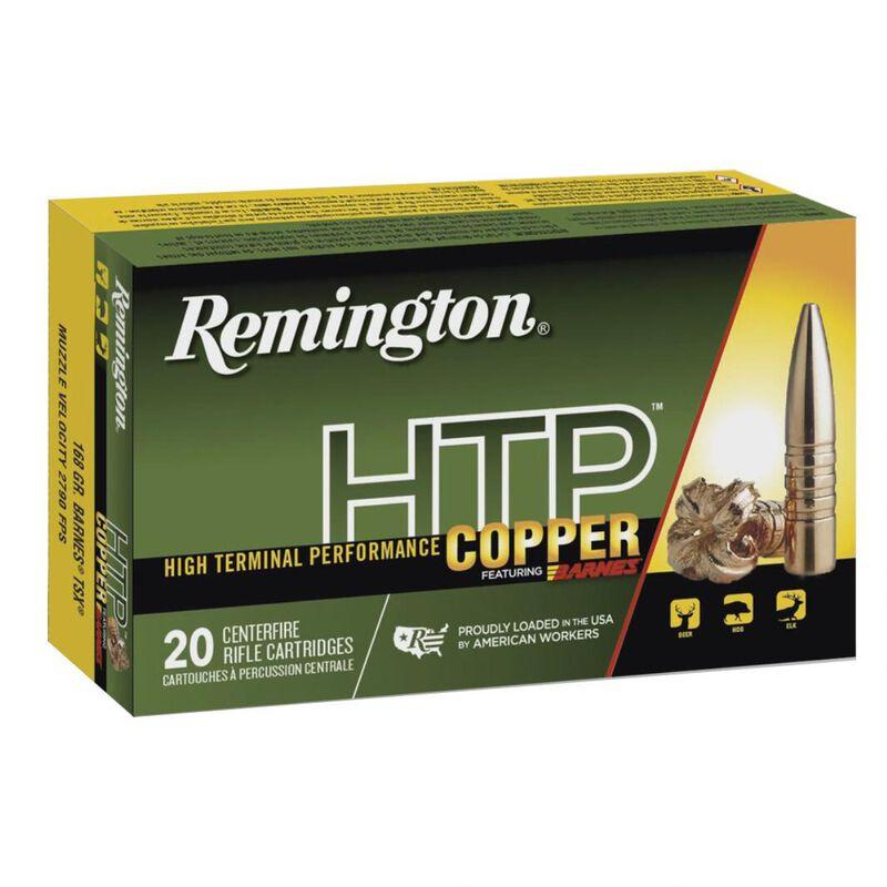Remington HTP Copper .300 AAC Blackout Ammunition 20 Rounds 130 Grain Barnes TSX Boat Tail