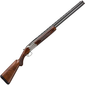 "Browning Citori White Lightning O/U Shotgun 12 Gauge 28"" Vent Rib Double Barrel 3"" Chamber 2 Rounds Walnut Stock Silver Receiver with Gold Engravings"