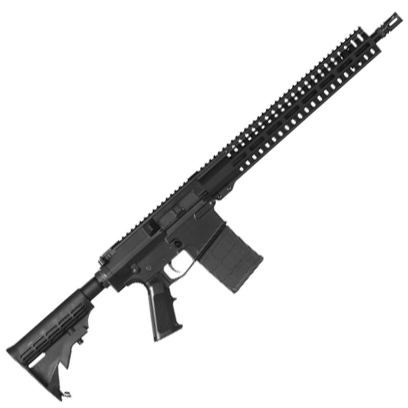 """CMMG Resolute 100 Series .308 Winchester AR Style Semi Auto Rifle 16"""" Barrel 20 Rounds CMMG RML15 M-LOK Hand Guard A2 Pistol Grip/M4 Collapsible Stock Matte Black Finish"""