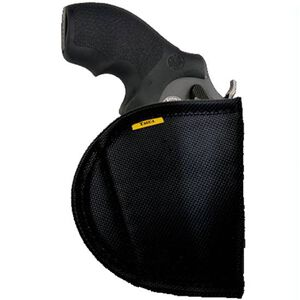 Tagua Gun Leather Remora Classic Original No-Clip Inside Waistband Holster For GLOCK 19, 23, 32 Ambidextrous Black RE-10