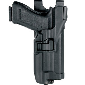 BLACKHAWK! SERPA Level 3 Light Bearing Auto Lock Duty Holster S&W M&P Left Hand Black