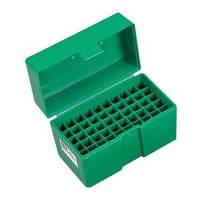 RCBS Medium Handgun Ammo Box Green 86905