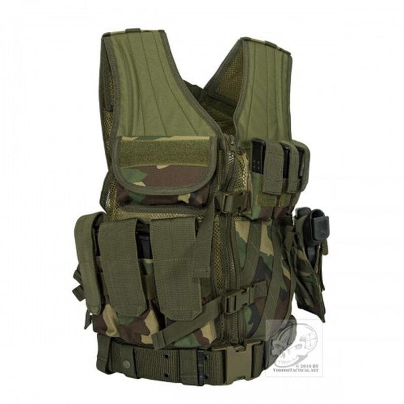 Voodoo Tactical MSP-06 ENTRY ASSAULT VEST Woodland Camo 20-8112005330