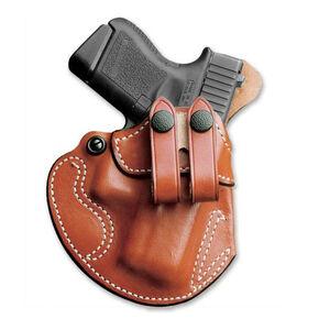 DeSantis Cozy Partner IWB Holster Glock 48 Left Handed Leather Black 028BB3NZ0