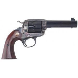 """Cimarron Bisley Model Revolver 45 LC 4.75"""" Barrel 6 Rounds Color Case Hardened Frame Walnut Grip Blued"""