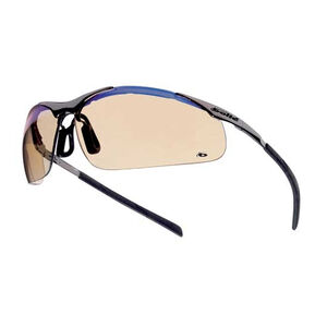 Bolle Contour Metal Safety Glasses Black Frame with ESP Lens