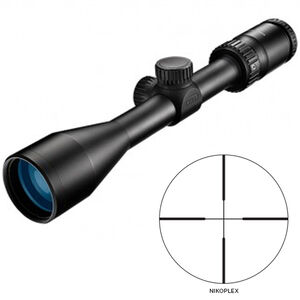 "Nikon Prostaff P5 2.5-10x42 Riflescope Non-Illuminated Nikoplex Reticle 1"" Tube .25 MOA Fixed Parallax Matte Black"