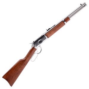 """Rossi R92 .357 Magnum Lever Action Rifle 16"""" Stainless Steel Round Barrel 8 Rounds Buckhorn Sights Brazilian Hardwood Stock Stainless Steel Finish"""