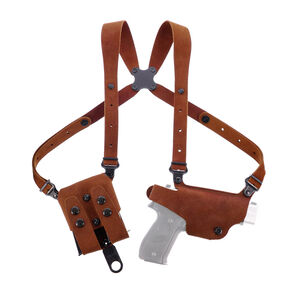 Galco Classic Lite 2.0 Shoulder for Most GLOCKs in 9/40 Holster Right Hand Leather Natural